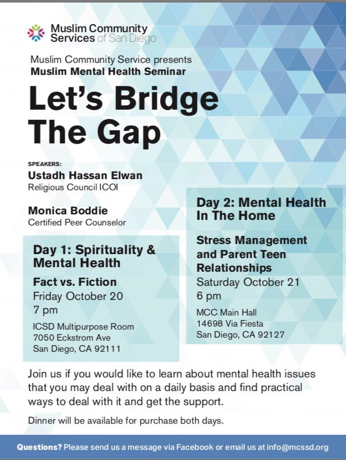MCS Events on Mental Health